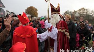 bezoek Sinterklaas Budschop