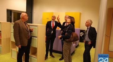 B&W op bezoek bij nieuwe basisscholen