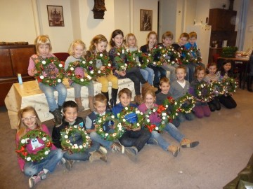 Kerstkrans 2012
