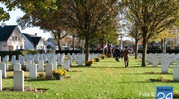 Nederweert Herdenking Britse begraafplaats 1