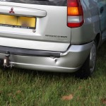 Ongeval Randweg Zuid Nederweert schade auto
