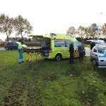 Ongeval Randweg Zuid Nederweert ambulance