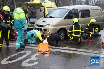 Ongeval St Jozefslaan Weert Kruisstraat