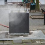 Containerbrand Serviliusstraat Weert