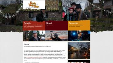 Homepagina website