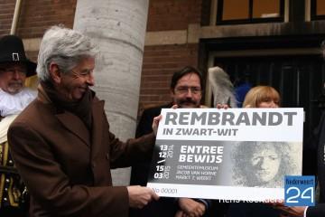 Minister Plasterk opent Rembrandt tentoonstelling Weert