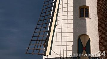 enige windmolen in Limburg die olie slaat