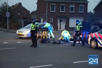 fietster gewond na aanrijding 548