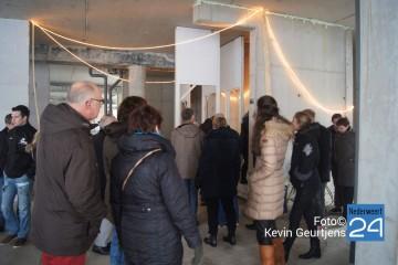 Drukte tijdens OPEN DAG La Cour Bleue
