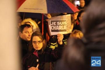 Manifestaties na aanslag Parijs