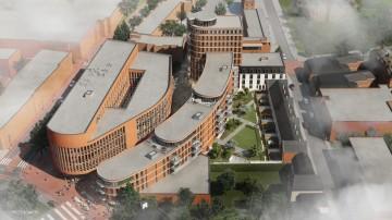 wooncomplex naast stadhuis Weert