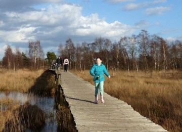 Winterwandeling in De Groote Peel Ospel