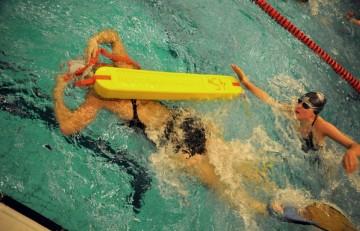 Nieuwjaarswedstrijd Zwembad De IJzeren Man