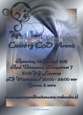 Country CD avond