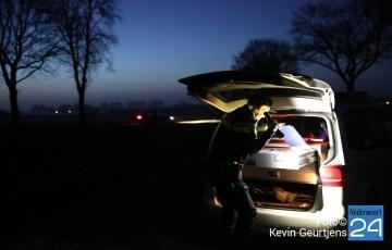 7politie schiet op gestolen auto Ospel