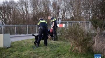 Arrestatie motorcrosser