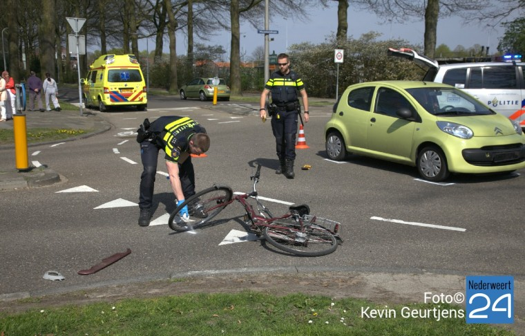 fietsster gewond