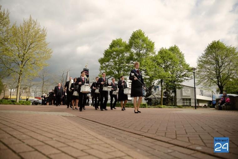 Aubade gemeente Nederweert gedecoreerde koninklijke onderscheiding