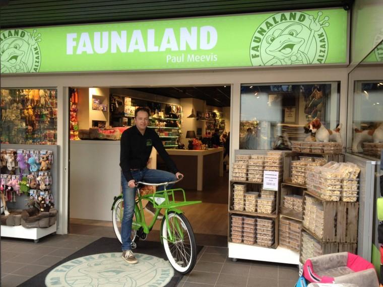 Faunaland finalist fiets