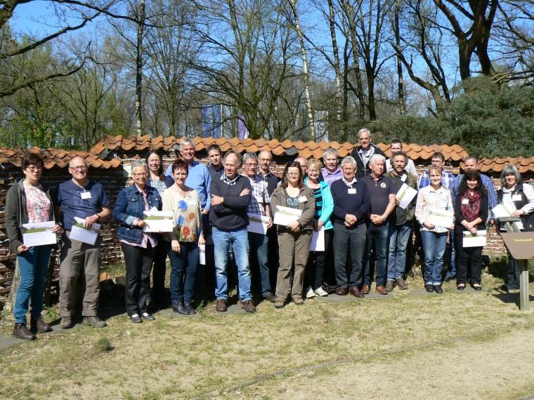 IVN landschapsgidsen in Midden-Limburg
