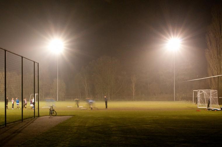 Verlicht Sportveld