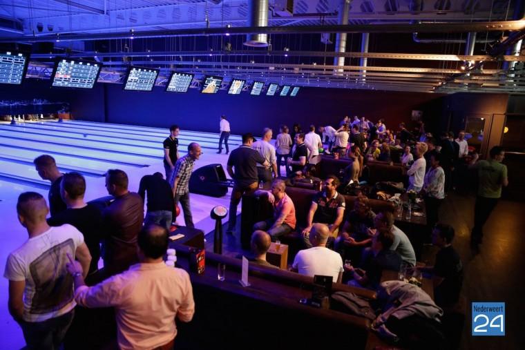 Bowling bij Pins and Pints voor Gaan voor Goud