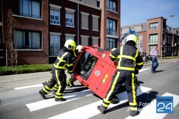 Ongeval scootmobiel Kapelenistraat Nederweert