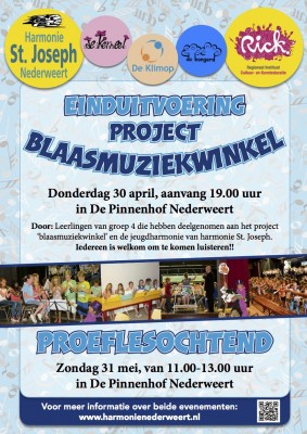 Poster Blaasmuziek 2015