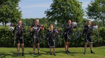 Festeynder Plein steunt Team DVM met Alpe d'Huzes
