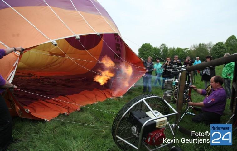 Luchtballon in Nederweert