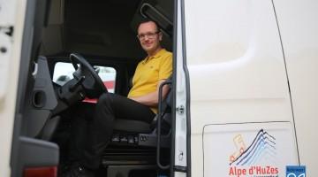 Rogé Megens zet zich in voor Alpe d'HuZes