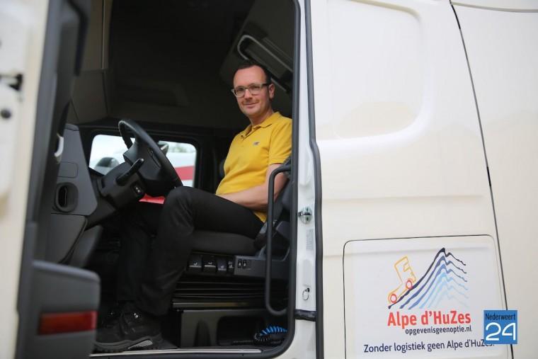 Alpe d'huzes transport logistiek vertrekt 2015 3938