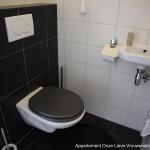 Appartement Ospel te koop toilet
