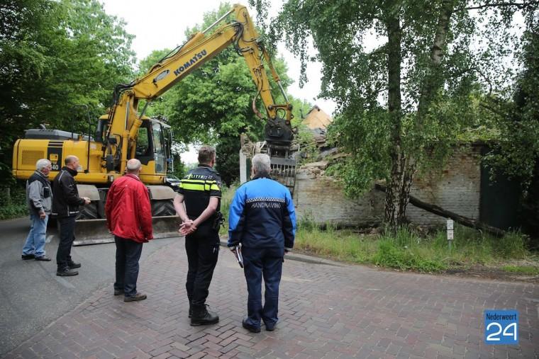 Boerderij Nederweertseweg Someren gesloopt 3936