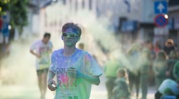Kleuren en muziek tijdens Color Fun Run (Foto's)