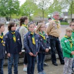 Dodenherdenking scouting