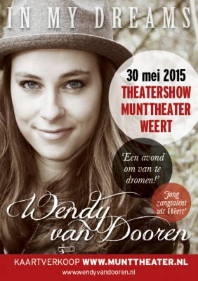 Flyer Theatershow Wendy van Dooren