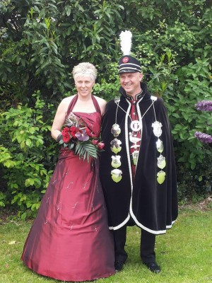 Koningspaar ohn en Hilde Vermeeren