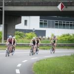 Stadstriatlon Weert 2015 triatlon Weert fietsen