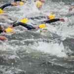 Stadstriatlon Weert 2015 triatlon Weert zwemmen