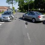 Hoofstraat ongeval