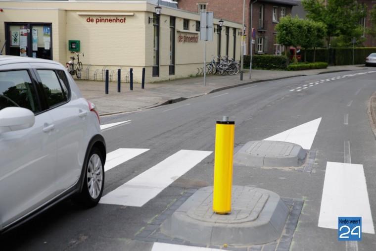 Verkeerssituatie Kapelaniestraat Nederweert 3584