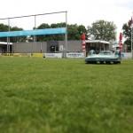 robot grasmaaier voetbalvelden