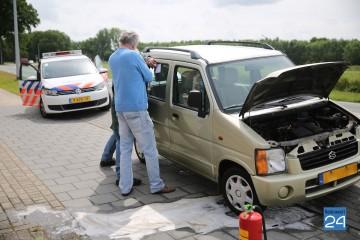 Autobrand Roermondseweg Weert 4179