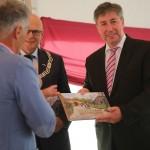 Eynderhoof 25 jaar burgemeester