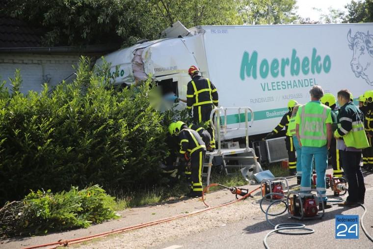 Ongeval Rijksweg Baexem 4434