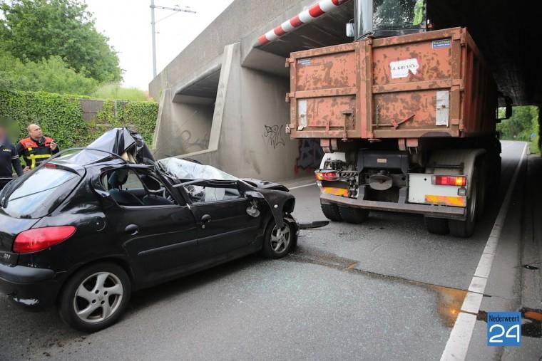 Ongeval Ringbaan West Weert 4218