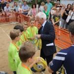 School Moves Volley kampioenen BS de Schrank wethouder