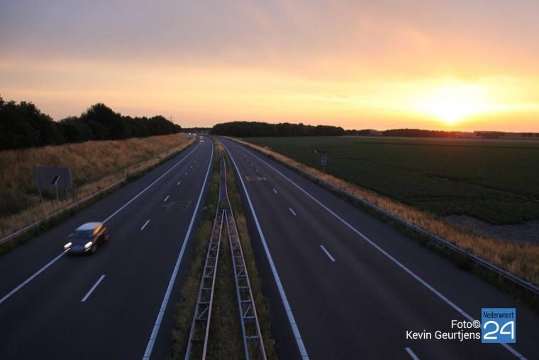 Snelweg A2 Nederweert