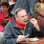 Vrijwilligers Bospop eten